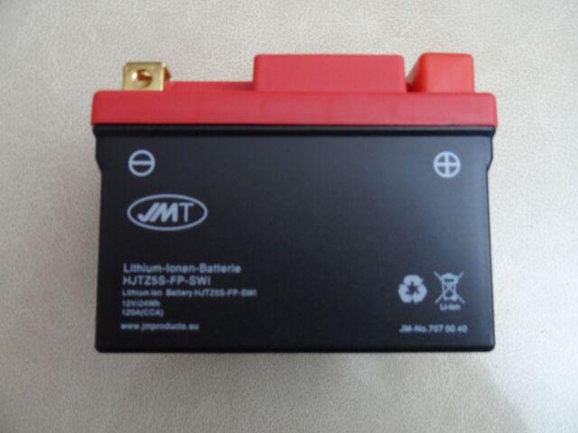 Batería de ion de litio jmt YTZ5S-FP reemplaza a YTZ5S YTX5L-BS YTX4L-BS