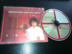 PASSION FRUIT AND HOLY BREAD  034 CRUSH 034  CD SINGLE - <span itemprop='availableAtOrFrom'>Liverpool, United Kingdom</span> - PASSION FRUIT AND HOLY BREAD  034 CRUSH 034  CD SINGLE - Liverpool, United Kingdom