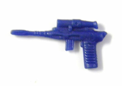 Pistolet G.I JOE /_ accessoire /_ 1983 Major Bludd Pistolet arme Bleu foncé /_ Near Comme neuf!!!
