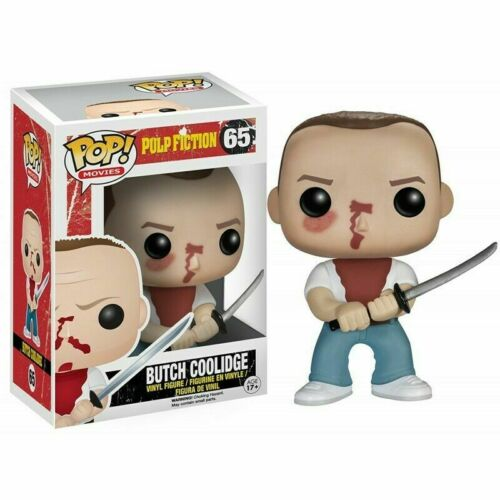 Funko Pop Style  Butch Coolidge Pulp Fiction  65 Figure with box