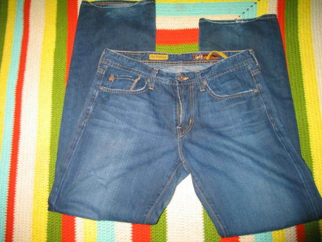 Men's AG ADRIANO goldSCHMIED 'THE PredEGE' Slim Straight Jeans made in USA 31X32