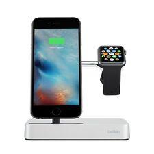 Genuine Belkin Valet Charge Dock for Apple Watch + iPhone *NEW* + Warranty!