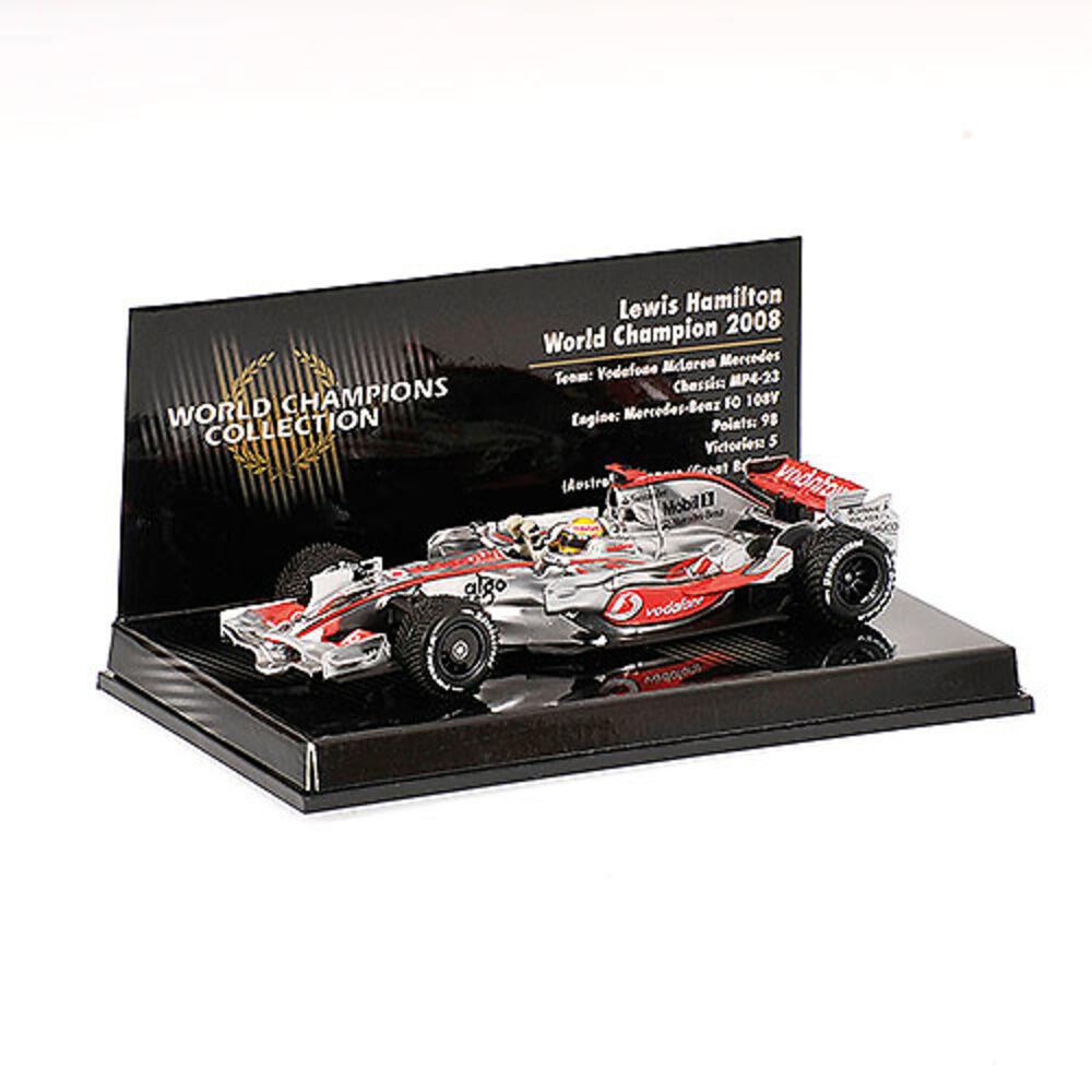 Minichamps McLaren MP4 23 2008 1 43  22 Lewis Hamilton (GBR) World Champ. (MCC)