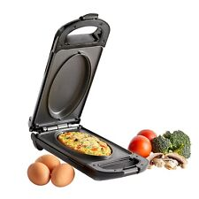 VonShef Omelette Maker Electric Non-Stick Egg Frying Pan Cooker Large Omlette