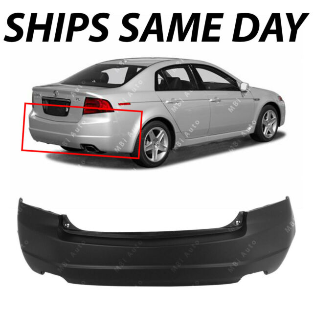NEW Primered Rear Bumper Cover Replacement For 2004 2005