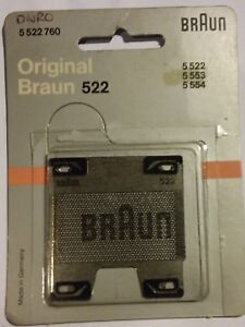 Braun-Shaver-Foil-522-5-522-760-for-5-522-5-553-5-554-new-old-shop-stock
