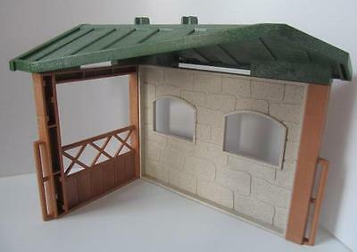 Playmobil Zoo/Farm/Stables: Animal shelter/horse or pony stall NEW