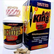 2 X Artri King Ortiga Omega 3 Curcuma Supplement Pain Releiver