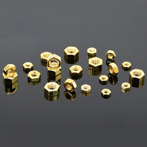 Hex Nuts Titanium Plating Fasteners Hardware Tools Metric M2 M2.5 M3 M4 M5 M6