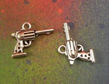 """37x Vintage Silver Alloy /""""FIRE DEPT/"""" Medal Pendants Findings Crafts Charms 51448"""