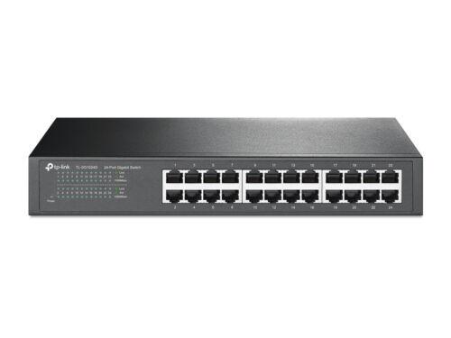 TP-Link TL-SG1024D 24-Port Gigabit 10//100//1000Mbps Desktop//Rackmount Switch