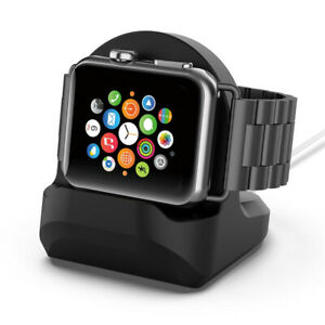 For-Apple-Watch-iWatch-Series-1-2-3-4-Silicone-Charge-Cable-Station-Holder-Stand
