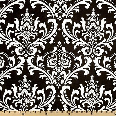 "WHITE AND BLACK DAMASK NAPKINS 14"" LINEN BRIDAL table linens WEDDING"