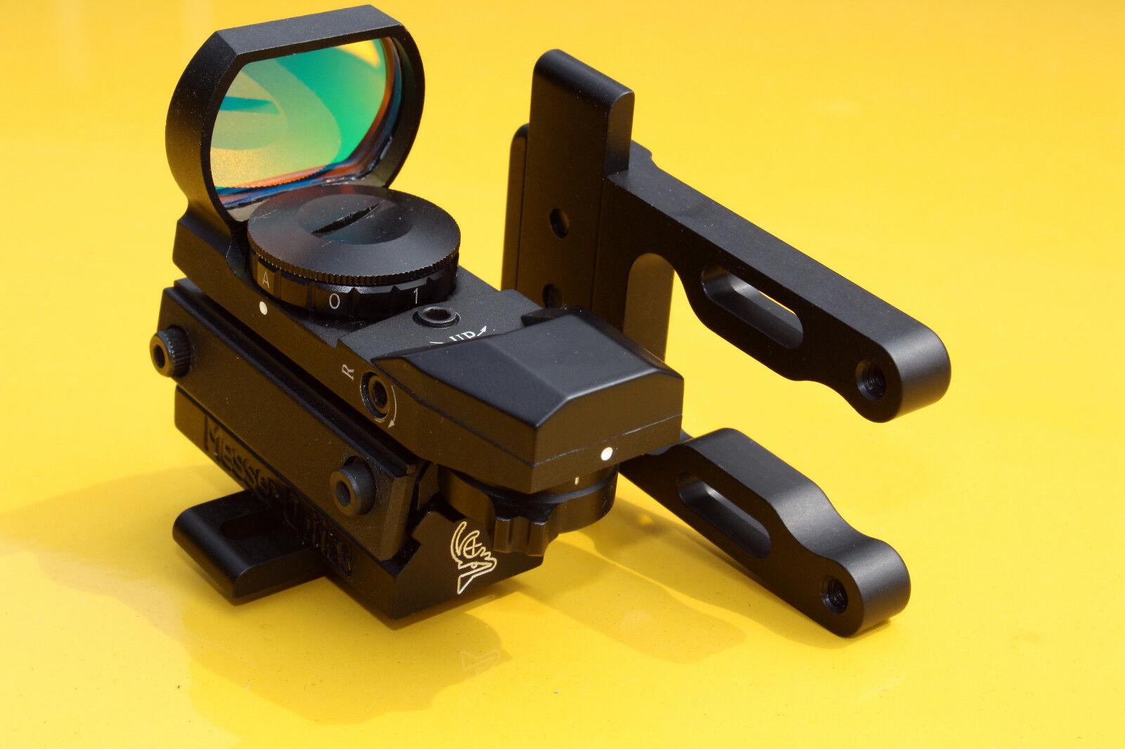 rojo dot scope óptica óptica óptica vista Monte arco con Messer se adapta a todas las d8423b