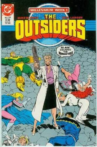 Erik Larsen, Millenium week 1 USA,1988 Outsiders # 27