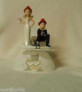 Wedding-Party-Reception-Fireman-Firewoman-Firefighter-AXE-Ball-Chain-Cake-Topper