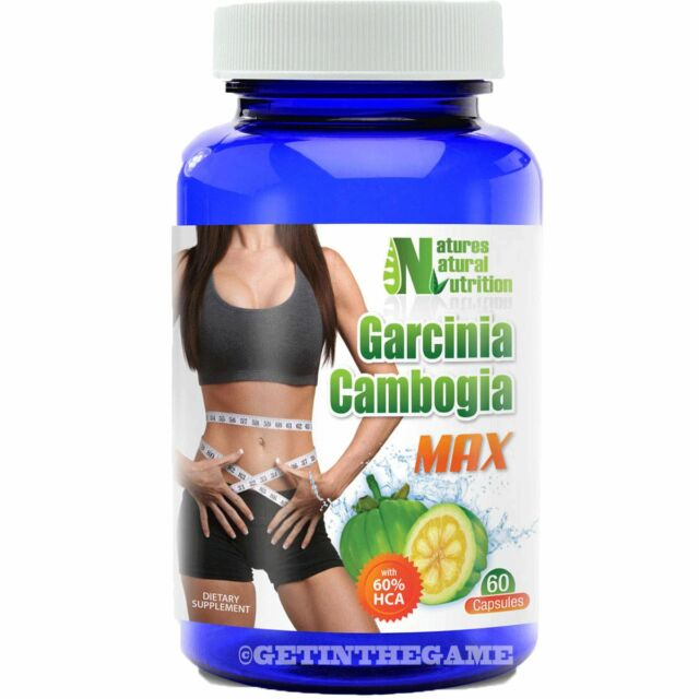 Garcinia Cambogia Extract MAX 1000mg Weight Loss Calcium 60% HCA Potassium