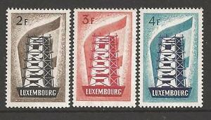 "EUROPA 1956 Luxembourg neuf ** 1er choix - France - Commentaires du vendeur : ""timbres neufs 1er choix"" - France"