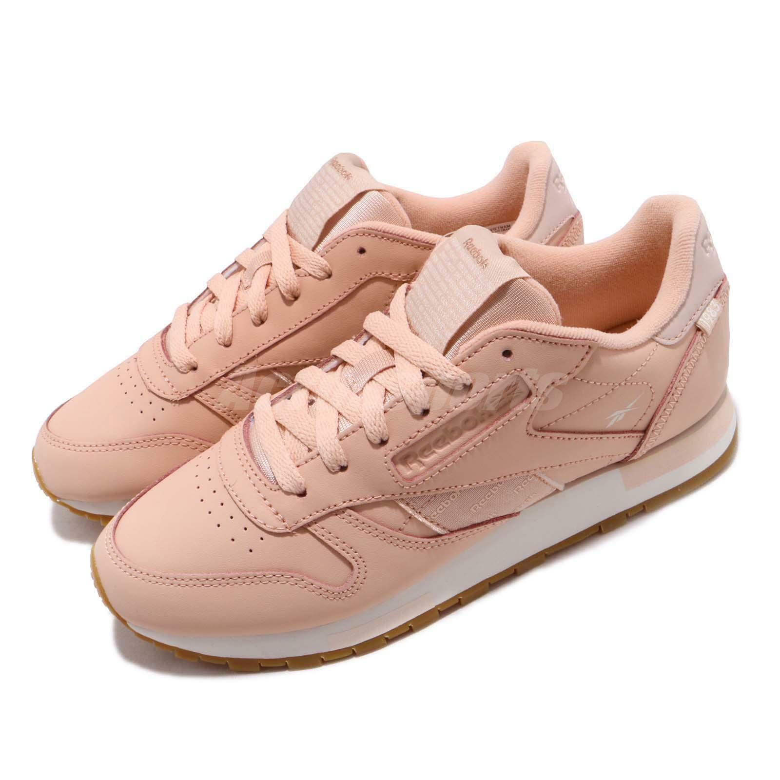 Reebok Classic Leather Altered pink Cloud gold Gum Women shoes Sneaker DV5236