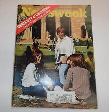 Newsweek Magazine University Of California November 23, 1970 101816R2