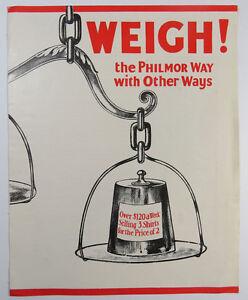 Philmor-Co-NYC-Vintage-Shirt-Salesman-Startup-Brochure-Company-Overview