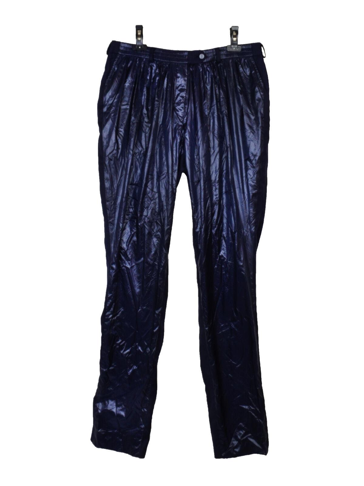 NEW Preen by Thornton Bregazzi bluee navy shiny trouser