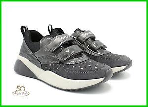 GEOX SCARPE DA Donna con Zeppa Platform Sneakers in Pelle