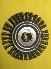 "5//8/""-11 AH Anderson 11215 4/"" Stringer Bead Knot Wheel .020//SS"