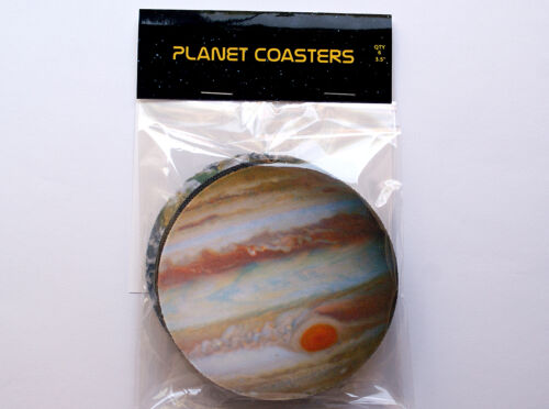 Set of 6 Solar System Planetary Coaster set SPACE Planet Coasters