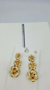 Circle stud earrings Acetate Circle studs floral Circle Earrings Circle earrings