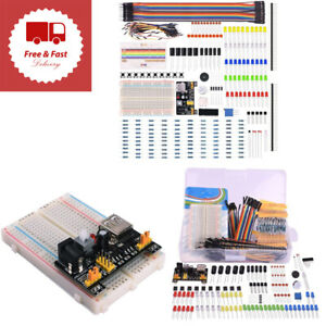 Arduino Raspberry Pi Electronic Fun Bundle Learning Kit Cable Resistor