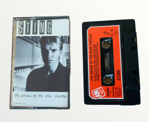 STING (the Police) THE DREAM OF THE BLUE TURTLES ON CASSETTE TAPE 1985 (19