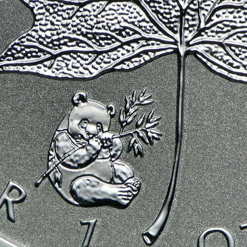 2016 1 oz SEALED Silver Maple Leaf Reverse Proof Coin IN STOCK PANDA PRIVY