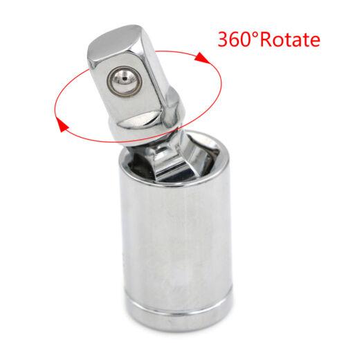 "Universal Joint Set Ratchet Angle Extension Bar Socket Adapter 1//4/"" 3//8/"" 1//2/""GNC"