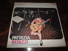 PATRIZIA REBIZZI MICHELINI MORRICONE TENCO Rare 1970 Library LP Bossa Prog Hear