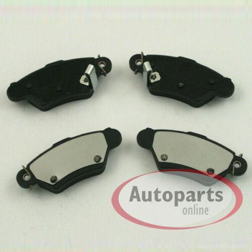 Bremsscheiben Bremsen Beläge für hinten die Hinterachse Opel Astra G