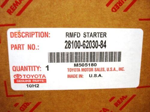 Toyota 4Runner Tacoma T100 Tundra Reman Starter Genuine OE OEM