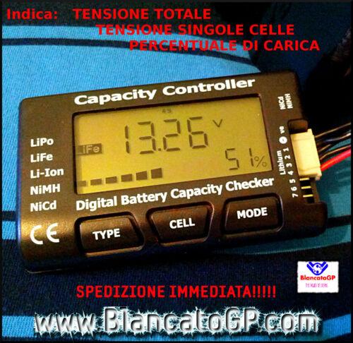 Lithium Battery Capacity Tester LiPo LiFe Li-ion NiMH Nicd COD EV-Dbcc IMAX b6 DC