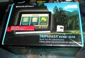 Rand Mcnally Tripmaker >> Details About Rand Mcnally Tripmaker Rvnd 5510 5 Rv Automotive Gps