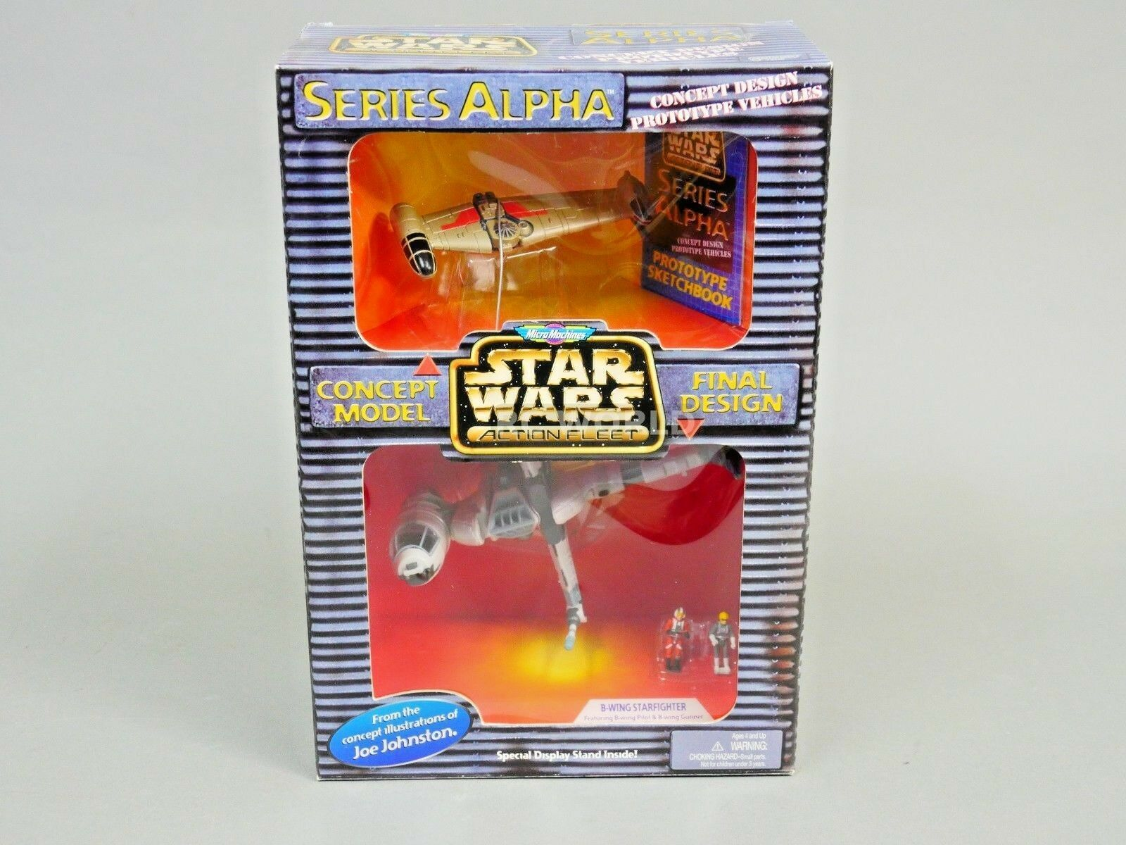 Guerra de las galaxias serie Alpha B-wing Starfighter Vehículo de Concepto Set-Nuevo -  rk1
