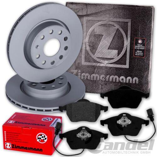 Zimmermann Sport discos de freno wako VW Phaeton en la parte delantera 3d Brembo pastillas freno