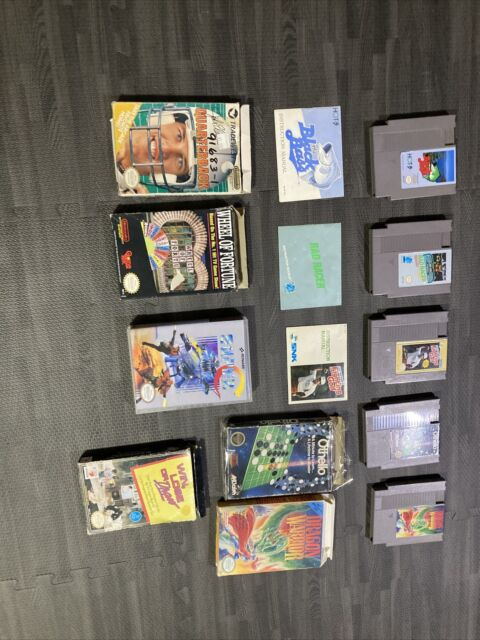 Nintendo NES Games Manual Box Lot