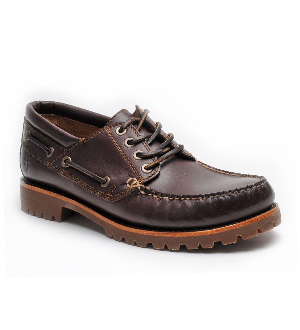 Pantofole da uomo Frye Sully Lug  Boat 80420 uomo Moccasins Shoes NEW Size US 11 M
