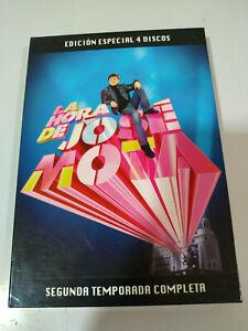 LA-HORA-DE-JOSE-MOTA-SEGUNDA-TEMPORADA-2-COMPLETA-4-X-DVD-EDICION-ESPECIAL