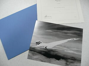 British Airways Concorde Last Issue Blank Mint Concorde Flight Certificate 2003