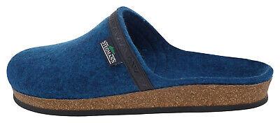 Objective Stegmann 17820 Wool Felt House Shoe Turquoise Petrol 186431 Slippers
