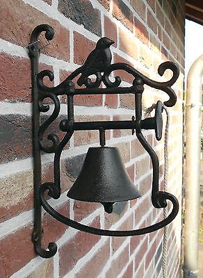 Türglocke Glocke Gusseisen Türklingel Landhausstil Neu Deko Antik