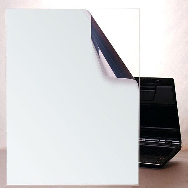 Milchglasfolie Milchglasfolie Milchglasfolie Silber Matt Innenmontage (Rollenbreite 152cm)  | Schön geformt  67ed2c