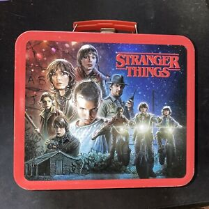 Stranger Things Metal Lunch-Box 2016 Tin Tote Box Netflix Loungefly