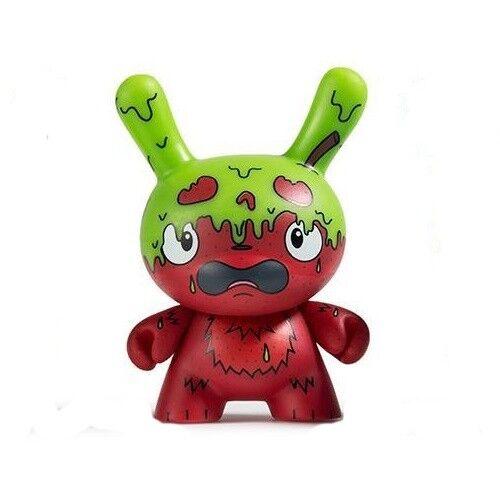 Vert /& Rouge Kidrobot peur Stupide petit coin Vinyle Mini-Figure-g.m.d